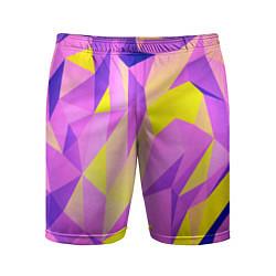 Шорты спортивные мужские Texture цвета 3D — фото 1