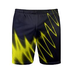 Шорты спортивные мужские Молния цвета 3D — фото 1