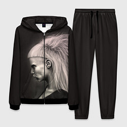 Костюм мужской Die Antwoord GIrl цвета 3D-черный — фото 1