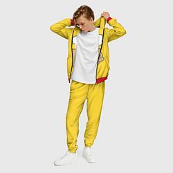 Костюм мужской Лицо Гомера цвета 3D-красный — фото 2