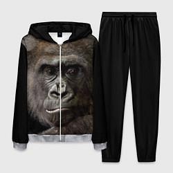 Костюм мужской Глаза гориллы цвета 3D-меланж — фото 1
