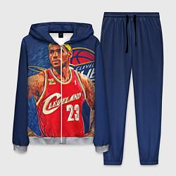 Костюм мужской LeBron 23: Cleveland цвета 3D-меланж — фото 1