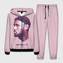 Костюм мужской LeBron James: Poly Violet цвета 3D-черный — фото 1