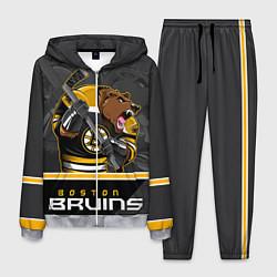 Костюм мужской Boston Bruins цвета 3D-меланж — фото 1