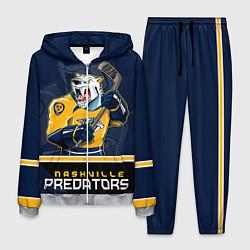 Костюм мужской Nashville Predators цвета 3D-меланж — фото 1