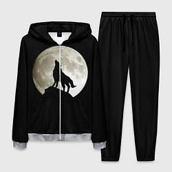 Костюм мужской Moon Wolf цвета 3D-меланж — фото 1