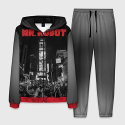 Костюм мужской Mr. Robot City цвета 3D-красный — фото 1