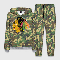 Костюм мужской Blackhawks Camouflage цвета 3D-меланж — фото 1