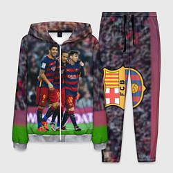 Костюм мужской Barcelona5 цвета 3D-меланж — фото 1