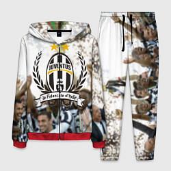 Костюм мужской Juventus5 цвета 3D-красный — фото 1