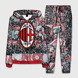 Костюм мужской Milan FC цвета 3D-красный — фото 1