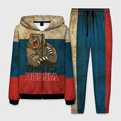Костюм мужской This is Russia цвета 3D-черный — фото 1