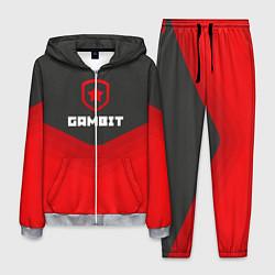 Костюм мужской Gambit Gaming Uniform цвета 3D-меланж — фото 1