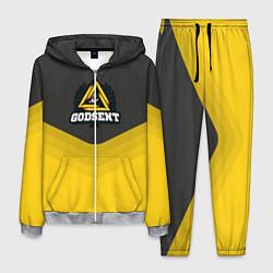 Костюм мужской Godsent Uniform цвета 3D-меланж — фото 1