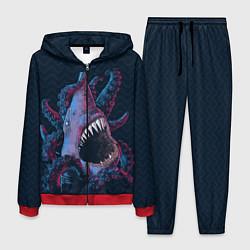 Костюм мужской Underwater Fight цвета 3D-красный — фото 1