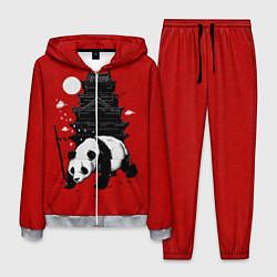 Костюм мужской Panda Warrior цвета 3D-меланж — фото 1