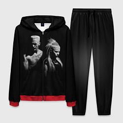 Костюм мужской Die Antwoord: Black цвета 3D-красный — фото 1