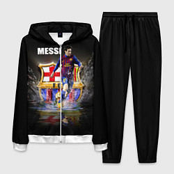 Костюм мужской Messi FCB цвета 3D-белый — фото 1