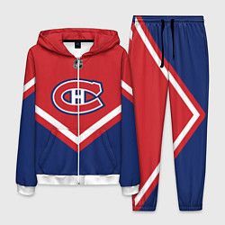 Костюм мужской NHL: Montreal Canadiens цвета 3D-белый — фото 1