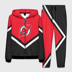 Костюм мужской NHL: New Jersey Devils цвета 3D-черный — фото 1