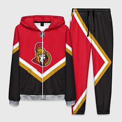 Костюм мужской NHL: Ottawa Senators цвета 3D-меланж — фото 1