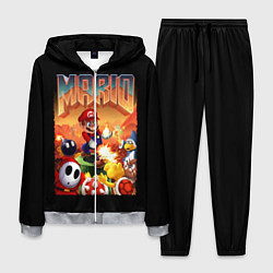 Костюм мужской Mario Doom цвета 3D-меланж — фото 1