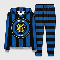 Костюм мужской Inter FC 1908 цвета 3D-меланж — фото 1