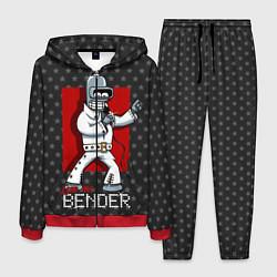 Костюм мужской Bender Presley цвета 3D-красный — фото 1