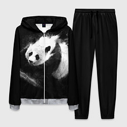 Костюм мужской Молочная панда цвета 3D-меланж — фото 1