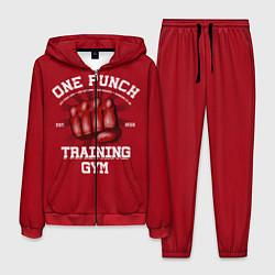 Костюм мужской One Punch Gym цвета 3D-красный — фото 1