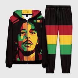 Костюм мужской Боб Марли цвета 3D-черный — фото 1