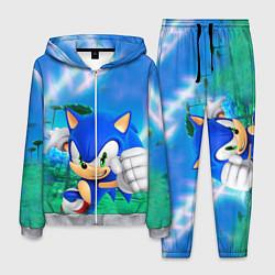 Костюм мужской Sonic Boom цвета 3D-меланж — фото 1