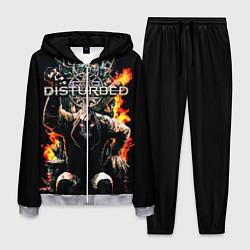 Костюм мужской Disturbed: Flame Throne цвета 3D-меланж — фото 1