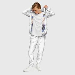 Костюм мужской Twenty One Pilots: Blue Guy цвета 3D-меланж — фото 2