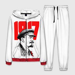 Костюм мужской Ленин 1917 цвета 3D-красный — фото 1