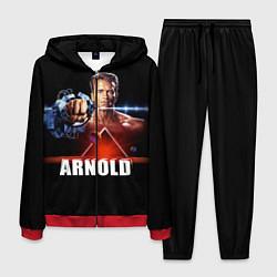 Костюм мужской Iron Arnold цвета 3D-красный — фото 1