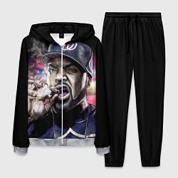 Костюм мужской Ice Cube: Big boss цвета 3D-меланж — фото 1