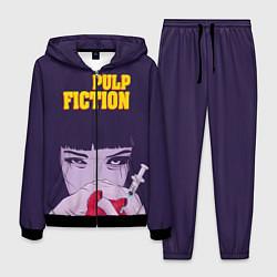 Костюм мужской Pulp Fiction: Dope Heart цвета 3D-черный — фото 1