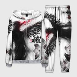 Костюм мужской Dead by April: Black angel цвета 3D-меланж — фото 1
