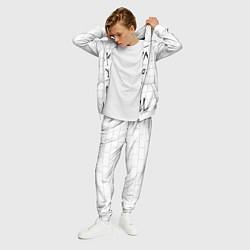 Костюм мужской PF: The Wall цвета 3D-белый — фото 2