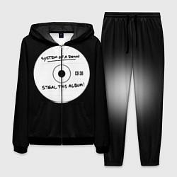 Костюм мужской SOAD: Steal this album цвета 3D-черный — фото 1
