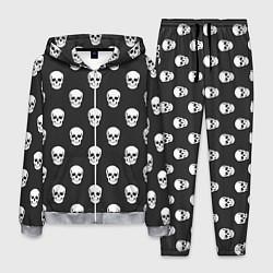 Костюм мужской BFMV: Skulls цвета 3D-меланж — фото 1