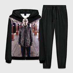 Костюм мужской Moby in Underground цвета 3D-черный — фото 1