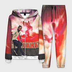 Костюм мужской Kendrick DAMN цвета 3D-белый — фото 1