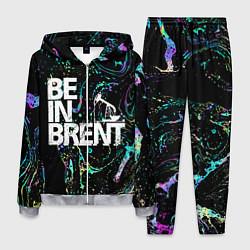 Костюм мужской Be in brent цвета 3D-меланж — фото 1