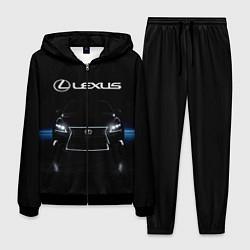 Костюм мужской Lexus цвета 3D-черный — фото 1