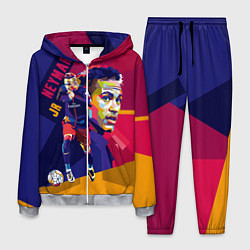Костюм мужской Jr. Neymar цвета 3D-меланж — фото 1