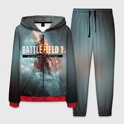 Костюм мужской Battlefield: In the name цвета 3D-красный — фото 1