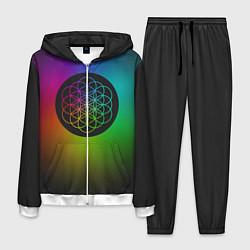Костюм мужской Coldplay Colour цвета 3D-белый — фото 1