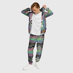 Костюм мужской The XX: Neon Colour цвета 3D-меланж — фото 2